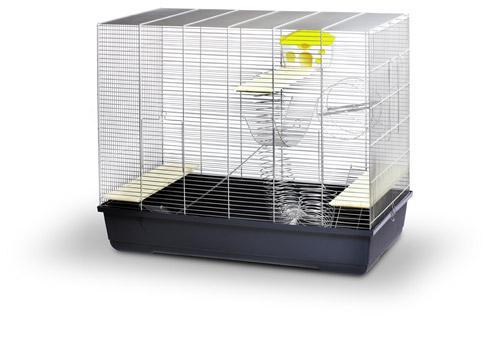 Hamster ratten chinchillakooi jerry vip kooien knaagdieren - Schilderij kooi d trap ...